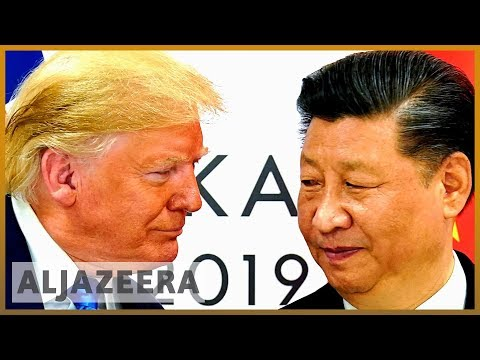 Markets sink as Trump presses US companies to leave China