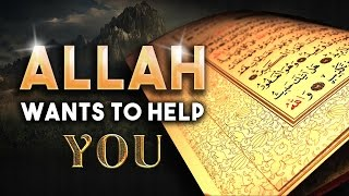 Allah Wants To Help You   Daily Islamic Reminder Sh  Bilal Assad HD,