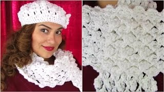 How To Crochet ♥ Scarf Tutorial ♥ Delicate Pattern