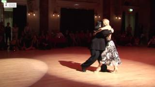 2016 Alejandra and Aoniken dance tango to Destino de Flor at Cheltenham International Tango Festival