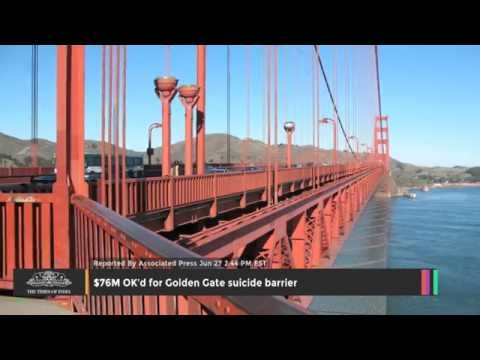 $76M OK'd For Golden Gate Suicide Barrier - TOI