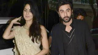 Katrina Kaif And Ranbir Kapoor At Amitabh Bachchan Diwali Party 2016