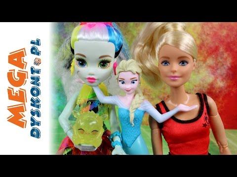 Psikusy Frankie Stein - Zelektryzowani Monster High & Disney Frozen & Barbie - Bajki dla dzieci