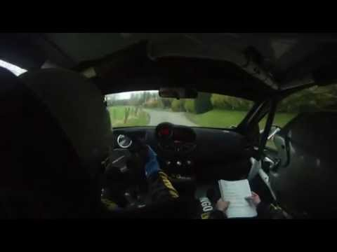 RALLYE DU TOUQUET 2012 - ANTHONY CAPLAN JULIEN BICHON TWINGO R1 - PARTIE 1