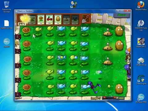 Plants vs. Zombies - Sun Hack (Cheat Engine)