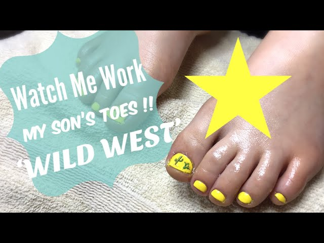 M My 4 year old gets a pedicure ❤️ Watch me work!!