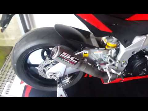 2014 aprilia rsv4 aprc abs crt project sound youtube