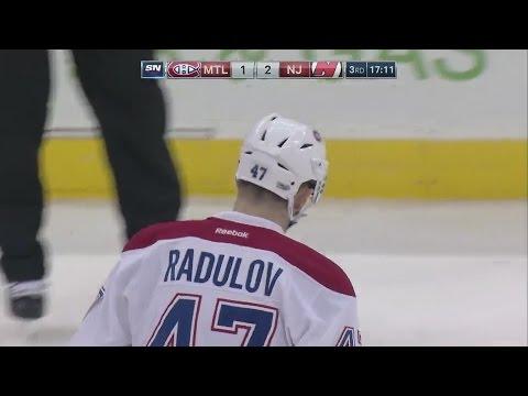 Нью-Джерси – Монреаль (28.02.17) А.Радулов одолел Дьяволов - один ГОЛ! плюс три голевые передачи...