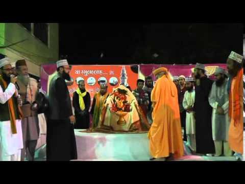 Hazrat Yasin Asharafi Dabhoi Wala With Hasmi Miya  At Bodeli Gujarat video