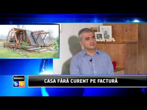 Casa Soleta zeroEnergy One  la B1-TV   -   17 martie 2013