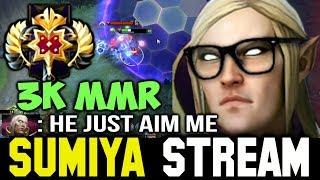 How Sumiya lead his Team in 3K MMR Game | Sumiya Invoker Stream Moment #141