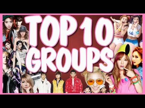 TOP 10 K-POP GROUPS | 2014