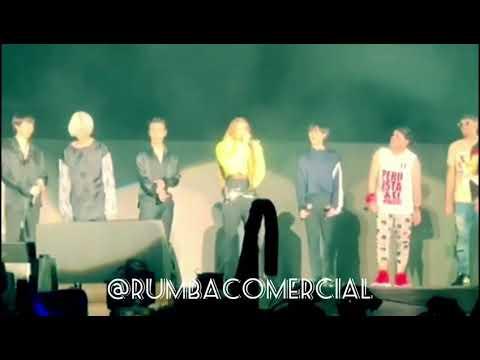 Leslie Grace, Super Junior & Play-N-Skillz - Lo Siento 슈퍼주니어 (Super Show 7) [RumbaComercial.Com]