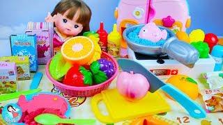 ของเล่นทำอาหาร ทรายมหัศจรรย์ ของเล่นเครื่องครัว ทรายเซอร์ไพรส์ Baby Doll Mell-Chan Kitchen Play Toys