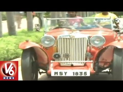 Madras Heritage Motoring Club Hosts 'Chennai Heritage Auto Show 2018' | V6 News