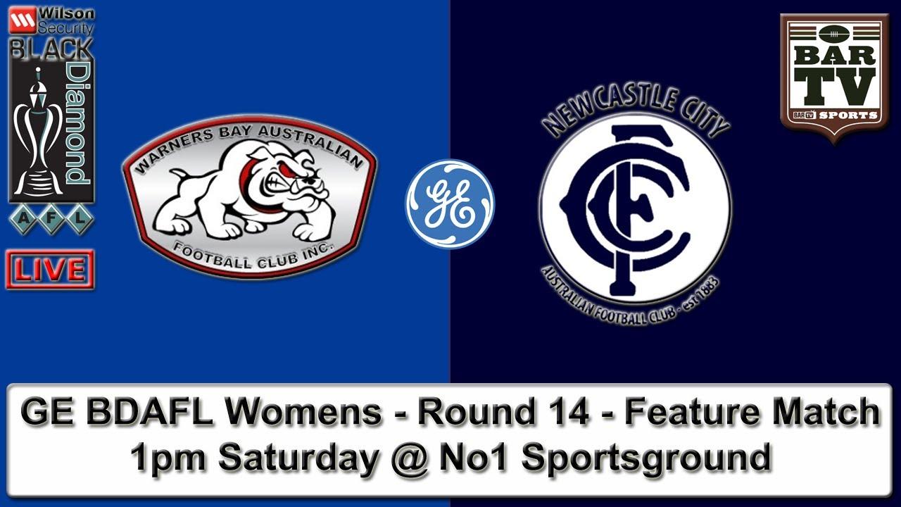 2015 GE BDAFL Womens - Round 14 - Warners Bay v Newcastle City