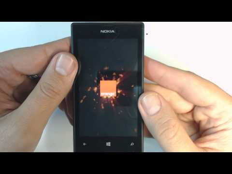 Nokia Lumia 520 - How To Remove Security Code By Hard Reset
