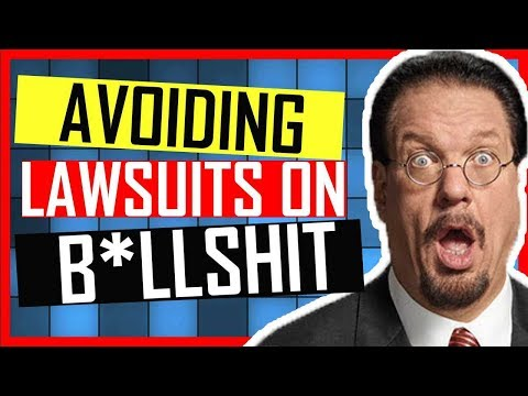 Penn and Teller: Avoiding lawsuits with The Show Bullshit - EXCLUSIVE INTERVIEW by Kevin Durham