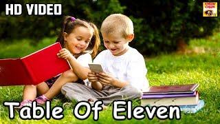 Learn Table of 11 | 11 x 1 = 11 | Learn Multiplication | Table Of Eleven | Fun & Learn Video |