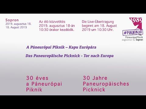 30 éves a Páneurópai Piknik. Az élő közvetítés 08.18-án 10:30 órakor kezdődik