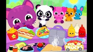 Fun Baby Pet Care Kids Game - Cute & Tiny Food Trucks Festival - Baby Learn Cooking Games For Kids