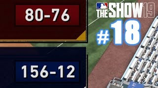 I CAN'T BELIEVE THIS GUY'S RECORD! | MLB The Show 19 | Diamond Dynasty #18
