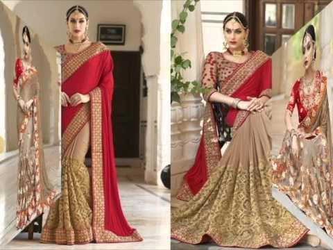 Best Seller Bridal Wedding Wear Sarees HD