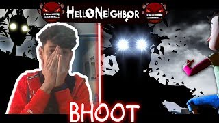 HELLO NEIGHBOUR WALE  GHAR ME BHOOT || ACT 3 PART  2 || HINDI ANDROID FUNNY GAMEPLAY  || FINESTLY