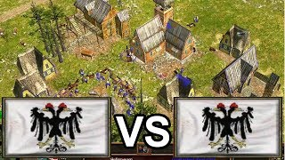 NWC player LordRaphael shows how to German! [Age of Empires 3]