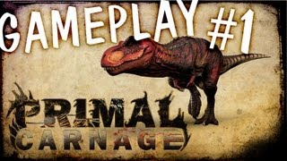 Primal Carnage BETA Gameplay #1[GER]