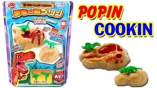 POPIN COOKIN Làm pudding khủng long sốt dâu - Đồ chơi Nhật Bản ăn được (Chim Xinh)