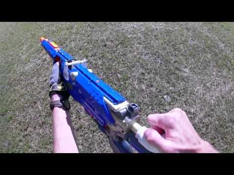 OVER 450 FPS Nerf Mod!!! : LS4B custom