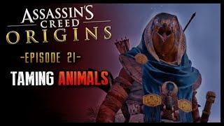 Assassin's Creed Origins Walkthrough Part 21 Taming Animals