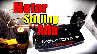 Motor Stirling Alfa - Alpha Stirling Engine