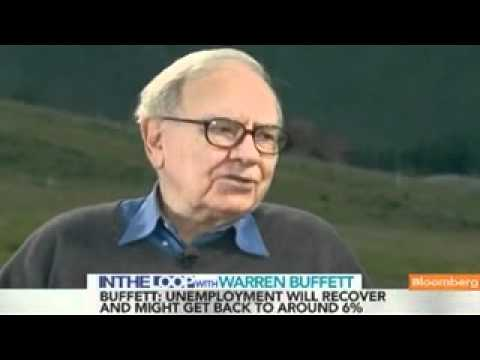 Warren Buffett on Jobs, U.S. Housing & Economy