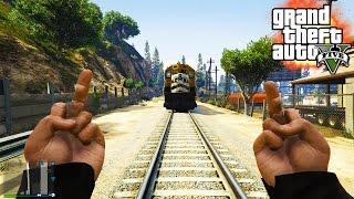 GTA V - Random Moments 28 (Screw You Train, Bug Galore!)