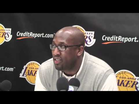 Lakers Coach Mike Brown on Kobe Bryant playing in the 2012 Olympics