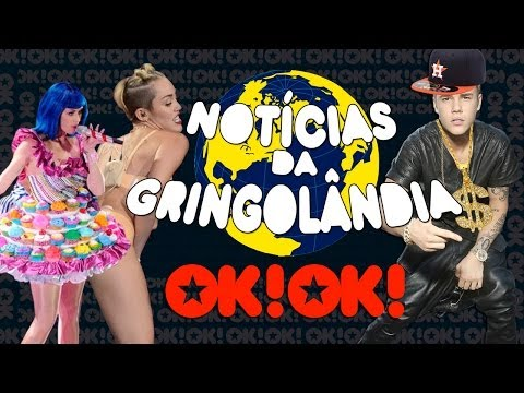 Miley Cyrus beija Katy Perry na boca, Bieber mini gangster e Nicki Minaj ladra de perucas