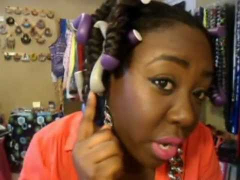 how to use flexi rods on weave