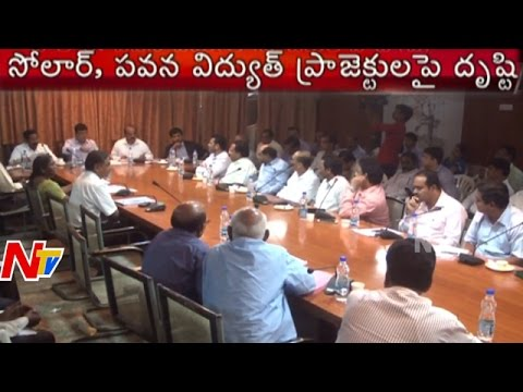 Government Plans Wind and Solar Energy Policy in AP   NTV