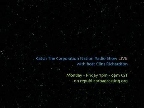 Corporation Nation Radio Show #49 - Guest: Chad Davis - December 20, 2013