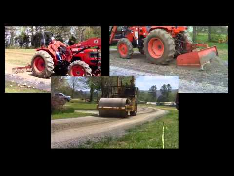 The future of road building and dust control - LANDLOCK NATURAL PAVING