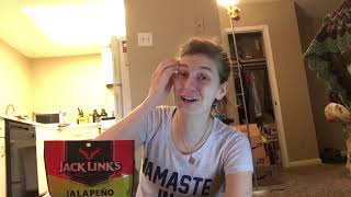 Jack Links Meat Snacks (Jalapeno Flavor) Review