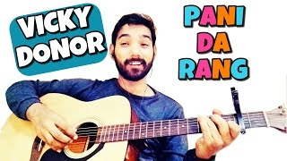 download lagu Pani Da Rang Guitar Lesson Ayushman Khurana gratis