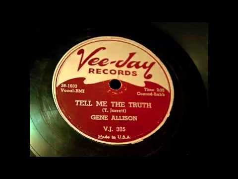 Gene Allison - Reap What You Sow and Tell The Truth 78 rpm!