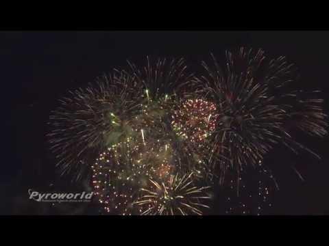 4th July Fireworks - Brussels - American School - Nato - DBK Fireworks - 2015