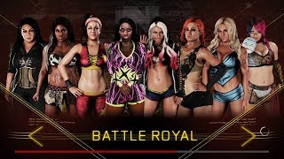 download lagu Wwe 2k18 - 8 Women Battle Royal At Nxt gratis
