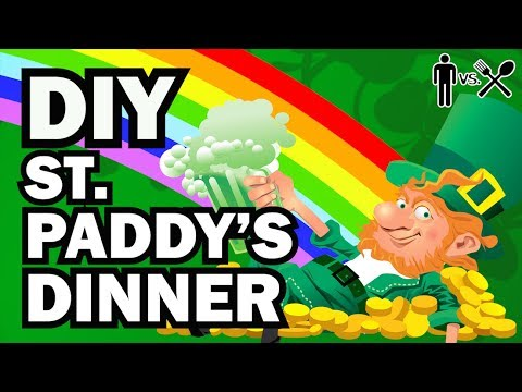 DIY St.Paddy's Day Dinner - Man Vs Din #8