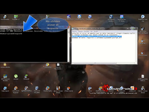 Tutorial: Solución Al Error Del Reproductor Windows Media || ERROR EN LA EJECUCIÓN DEL SERVIDOR