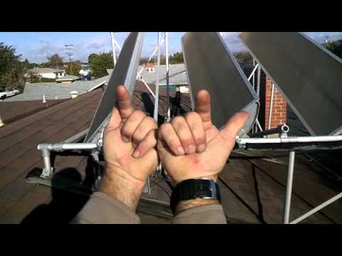 Solar Powered Domestic Hot Water (DHW)
